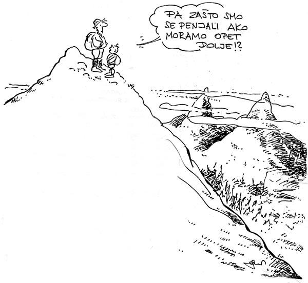 Gojzek na vrhu brda by Serdarević