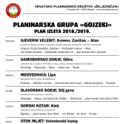 Gojzeki-plan izleta