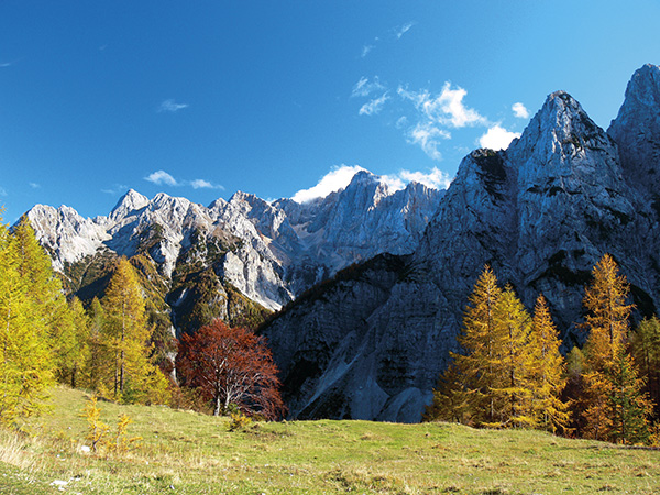Jesen na Vršiču, Julijske Alpe